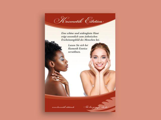 Plakat Kosmetikstudio