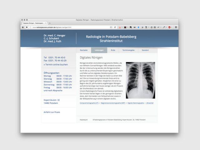 Radiologiepraxis Potsdam